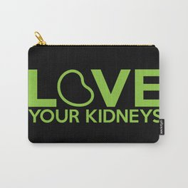 Love Your Kidneys Carry-All Pouch