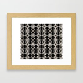 French-American pattern Framed Art Print