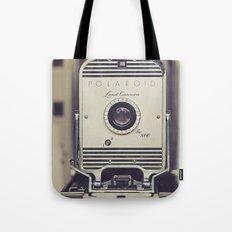 Vintage Polaroid Land Camera The 800 Tote Bag