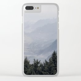 Shades of Obscurity Clear iPhone Case