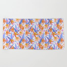 Daffodil Days Beach Towel