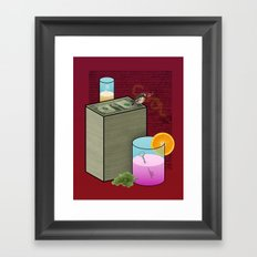 Fun and Cool and Interesting and Friendly Framed Art Print