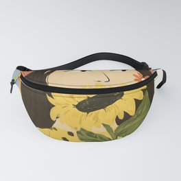 Sunflowers In Your Face Fanny Pack