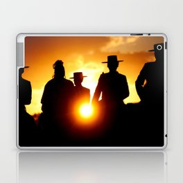 Golden pilgrims Laptop & iPad Skin
