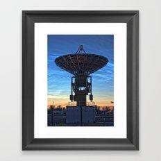 Antenna Framed Art Print