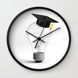 Clever Idea Wall Clock