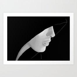 Veiled Art Print