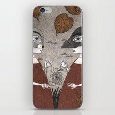 Ana and Eva (An All Hallows' Eve Tale) iPhone Skin