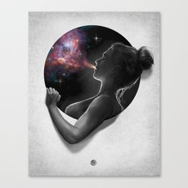 Breath : Porthole Series Canvas Print