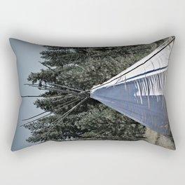 Tipi Dreaming Rectangular Pillow