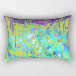 Floral Watercolor Craze Rectangular Pillow