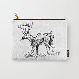 Modern deer Carry-All Pouch
