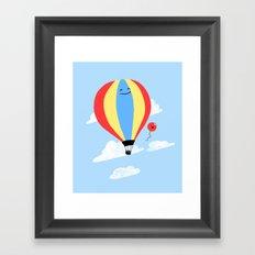 Balloon Buddies Framed Art Print
