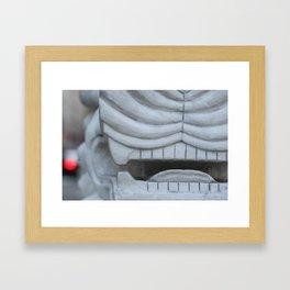 Chinatown, Boston Framed Art Print