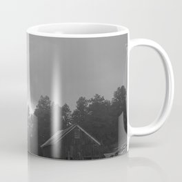 Log Cabin Blues Coffee Mug