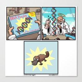 Drunk DNA Canvas Print
