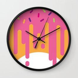 DonutWorry Wall Clock