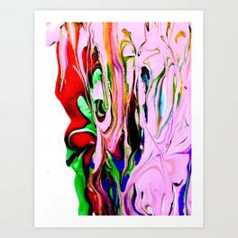 Abstract Me Art Print