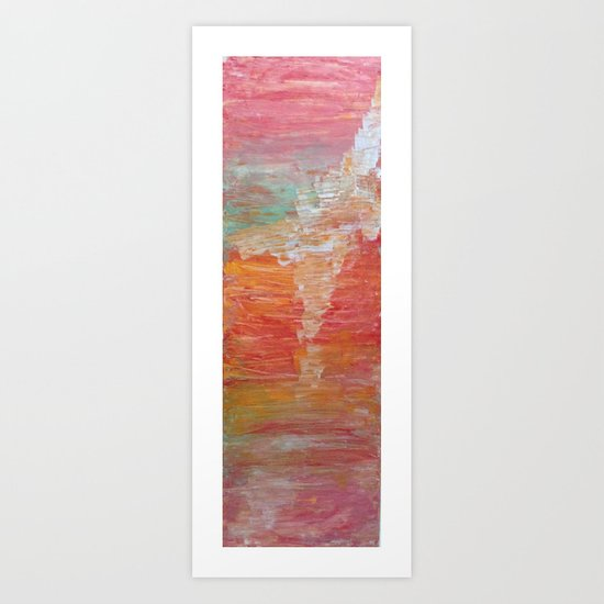 Come Undone Art Print