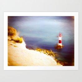 Beachy Head Lighthouse 2 Art Print