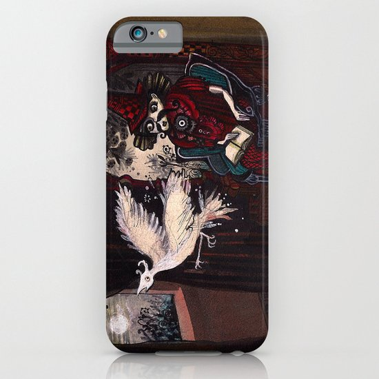 The Sorcerer and the Simourgh  iPhone & iPod Case