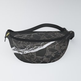 NETWORKED BLACK & WHITE Fanny Pack