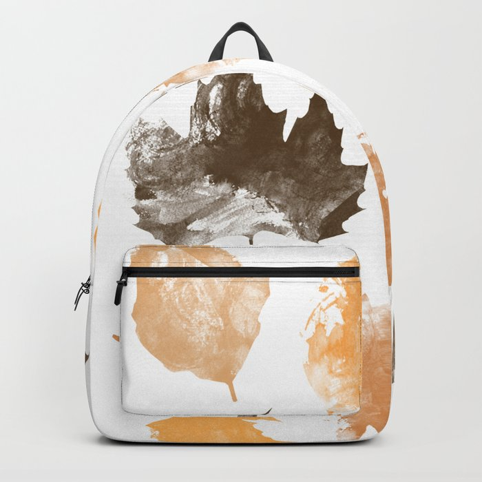 autumn, leaves, Backpack