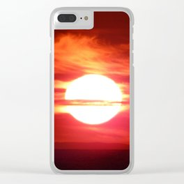 Fireball Above the Saint-Lawrence Clear iPhone Case