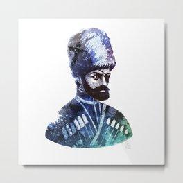 Cossack Metal Print