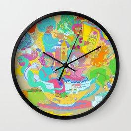 Harmony of Tea Wall Clock