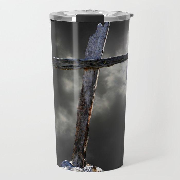 The Old Rugged Cross Travel Mug