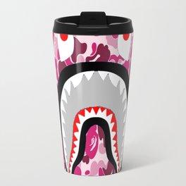 Bape Shark Pink Travel Mug