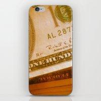 bill iPhone & iPod Skins featuring $bill by Nick Nichols