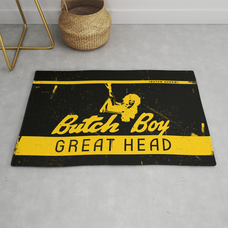 Butch Boy Bq Rug By Lessdanthree
