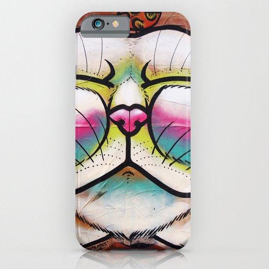 Smiling Cat & Bird iPhone & iPod Case
