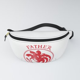 Father of Cats Design Funny Gift for Cat Lovers Fanny Pack