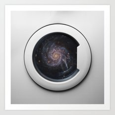 Rolling Space Art Print