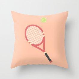 #19 Tennis Throw Pillow