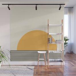 Sunrise / Sunset VI - Yellow & Black Wall Mural