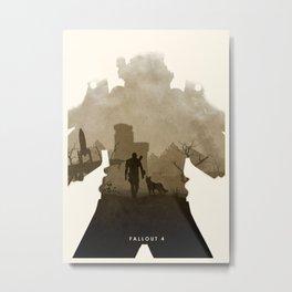 Fallout 4 (II) Metal Print