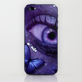 Butterfly Embrace iPhone Skin