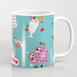 Valentine's Day Elements Coffee Mug