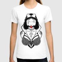 bondage T-shirts featuring Snow Bondage Princess by Punk-O-Punx