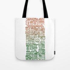 Autumn city Tote Bag