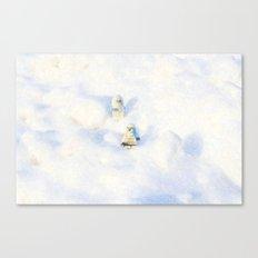 Snow Pop Canvas Print