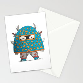 Blue Demon Stationery Cards