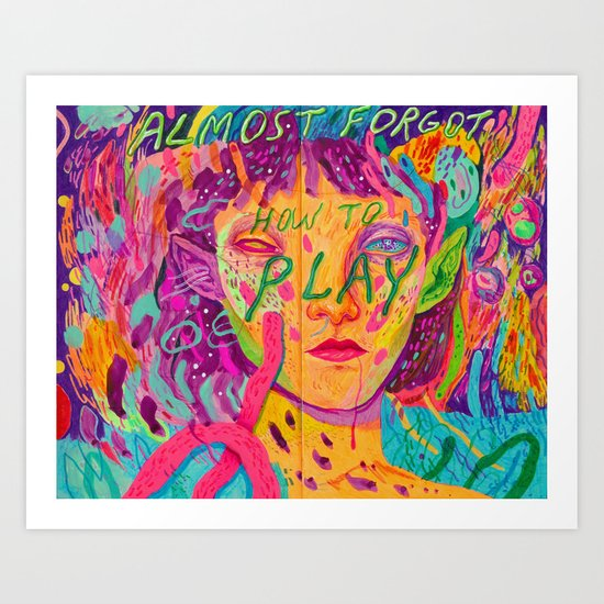 don't forget Art Print