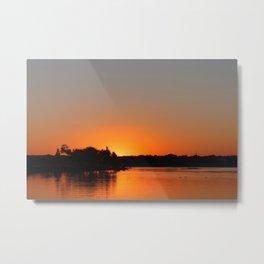 Sunset at Sunset Bay Metal Print