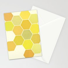 Shades of Yellow Stationery Cards