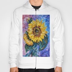 Sunflower (Palette Knife) Hoody